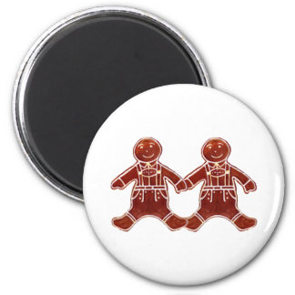 Gingerbread Children Boys The MUSEUM Zazzle Gifts Fridge Magnets