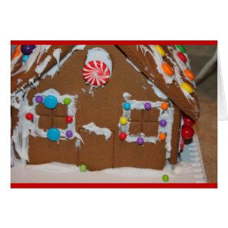 Gingerbread Christmas Card Templates