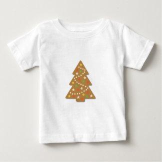 Gingerbread Christmas Tree Baby T-Shirt