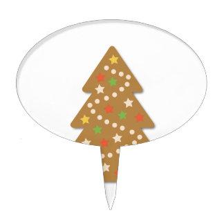 Gingerbread Christmas Tree Cake Topper