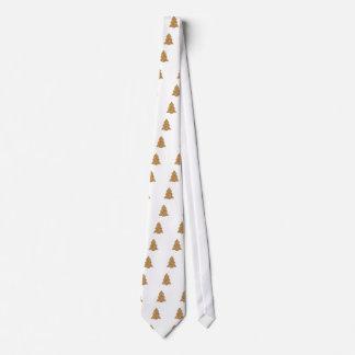 Gingerbread Christmas Tree Tie