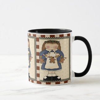 Gingerbread Cookie Girl Mug