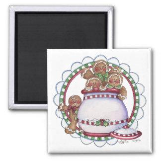 Gingerbread Cookie Jar Magnet