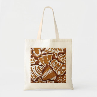 Gingerbread Cookies Budget Tote Bag