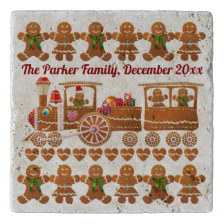Gingerbread Cookies' Christmas Party Trivet