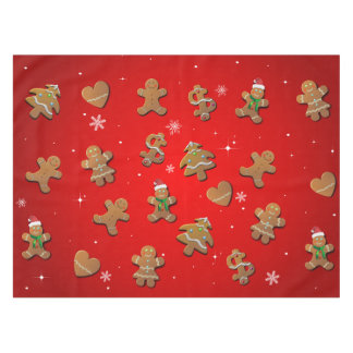 Gingerbread Cookies Tablecloth