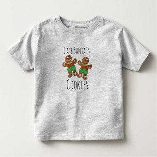 Gingerbread Cookies Toddler Fine Jersey T-Shirt