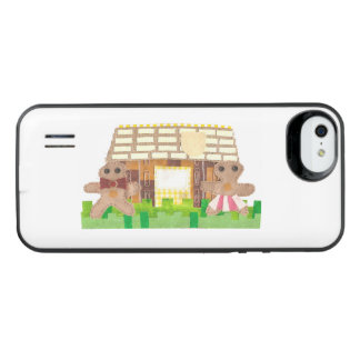 Gingerbread Couple Battery Pack iPhone SE/5/5s Battery Case