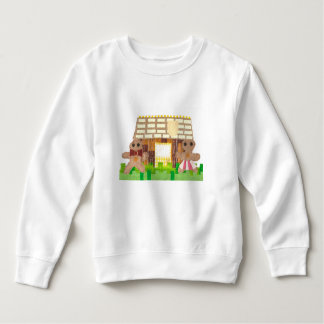 Gingerbread Couple No Background Toddler Jumper Sweatshirt
