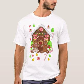 Gingerbread Crazy Men's T Shirt, Christmas T T-Shirt