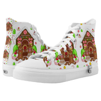 Gingerbread Crazy, Zipz High Tops