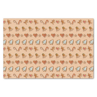 Gingerbread Cutout Cookies Tissue Paper