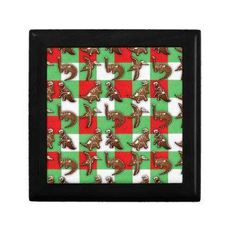Gingerbread Dinos Gift Box