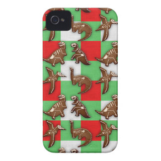 Gingerbread Dinos iPhone 4 Case-Mate Cases