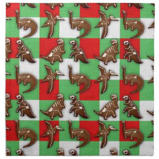 Gingerbread Dinos Napkin
