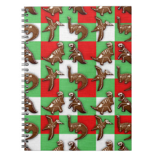 Gingerbread Dinos Notebook