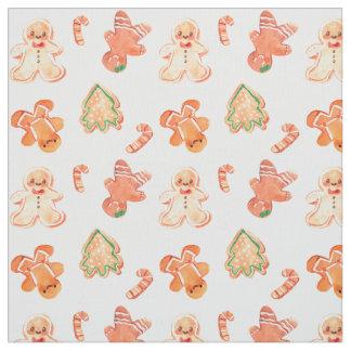 Gingerbread Fabric