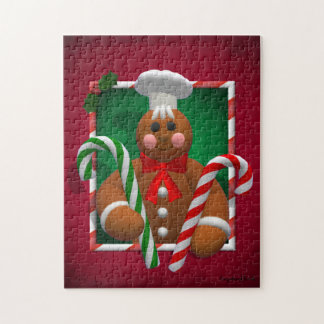 Gingerbread Family: Candy Boy Jigsaw Puzzle