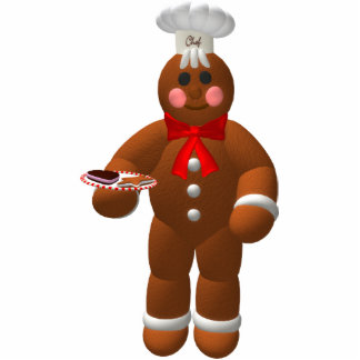 Gingerbread Family: Little Baker Cut Out