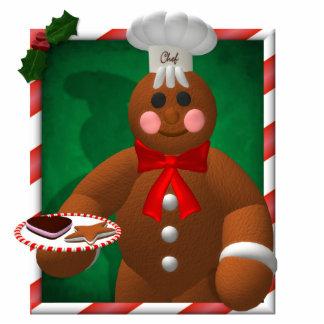 Gingerbread Family: Little Baker Photo Sculpture