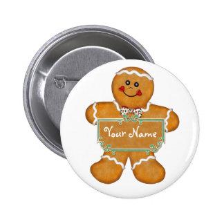 Gingerbread Fun Buttons