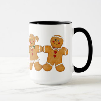 Gingerbread Fun - Couple Mug