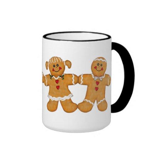 Gingerbread Fun - Couple Coffee Mugs