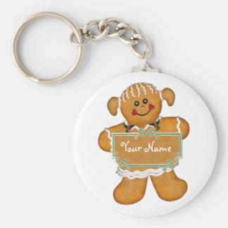 Gingerbread Fun Key Ring