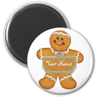 Gingerbread Fun Magnet