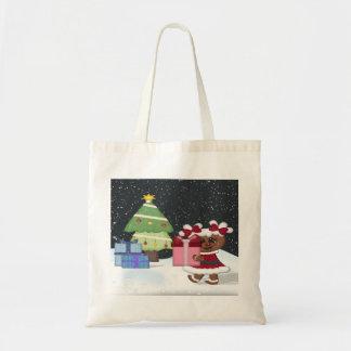Gingerbread Girl Budget Tote Bag