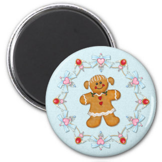 Gingerbread Girl Magnet