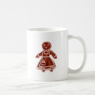 Gingerbread Girl The MUSEUM Zazzle Gifts Mugs