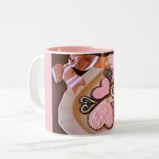 Gingerbread Hearts Mug