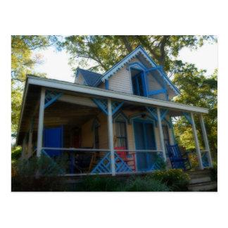 Gingerbread house 10 postcard