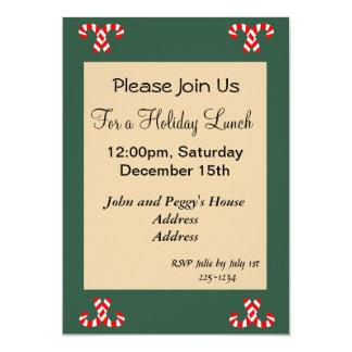 Gingerbread House 13 Cm X 18 Cm Invitation Card
