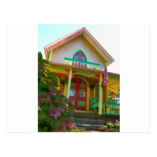 Gingerbread house 26 postcard