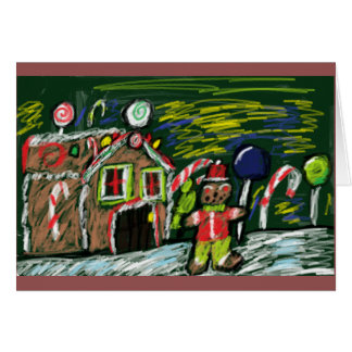 gingerbread house 2 card