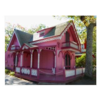 Gingerbread house 7 postcard