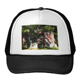 Gingerbread house 9 mesh hats