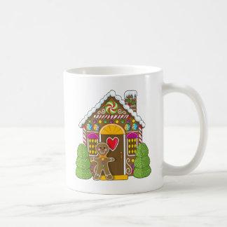 Gingerbread House and Man Coffee Mugs