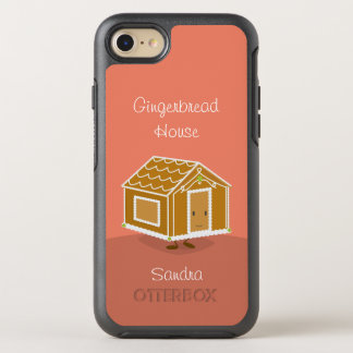 Gingerbread House and Name | OtterBox Symmetry iPhone 8/7 Case