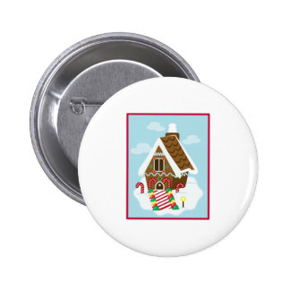 Gingerbread House Buttons