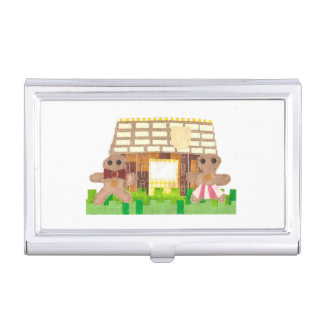 Gingerbread House Business Card Holder