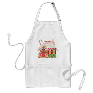 Gingerbread House by SRF Standard Apron