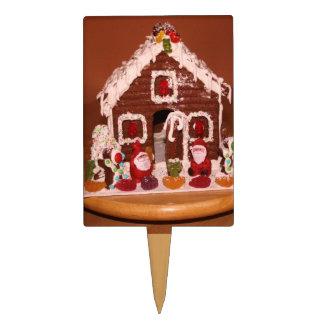 Gingerbread House Cake Pick