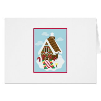 Gingerbread House Greeting Cards