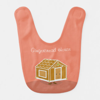 Gingerbread House character | Baby Bib