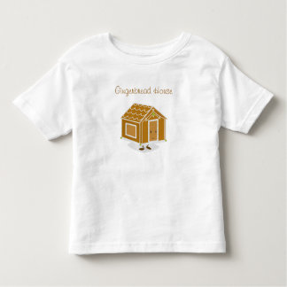 Gingerbread House character | Toddler T-shirt