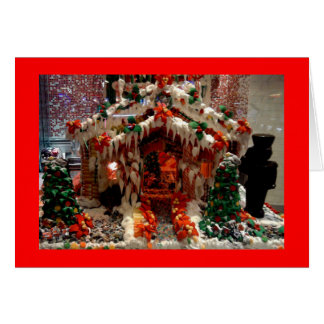 Gingerbread House Christmas Cards