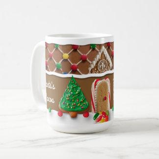 Gingerbread House Christmas Mug